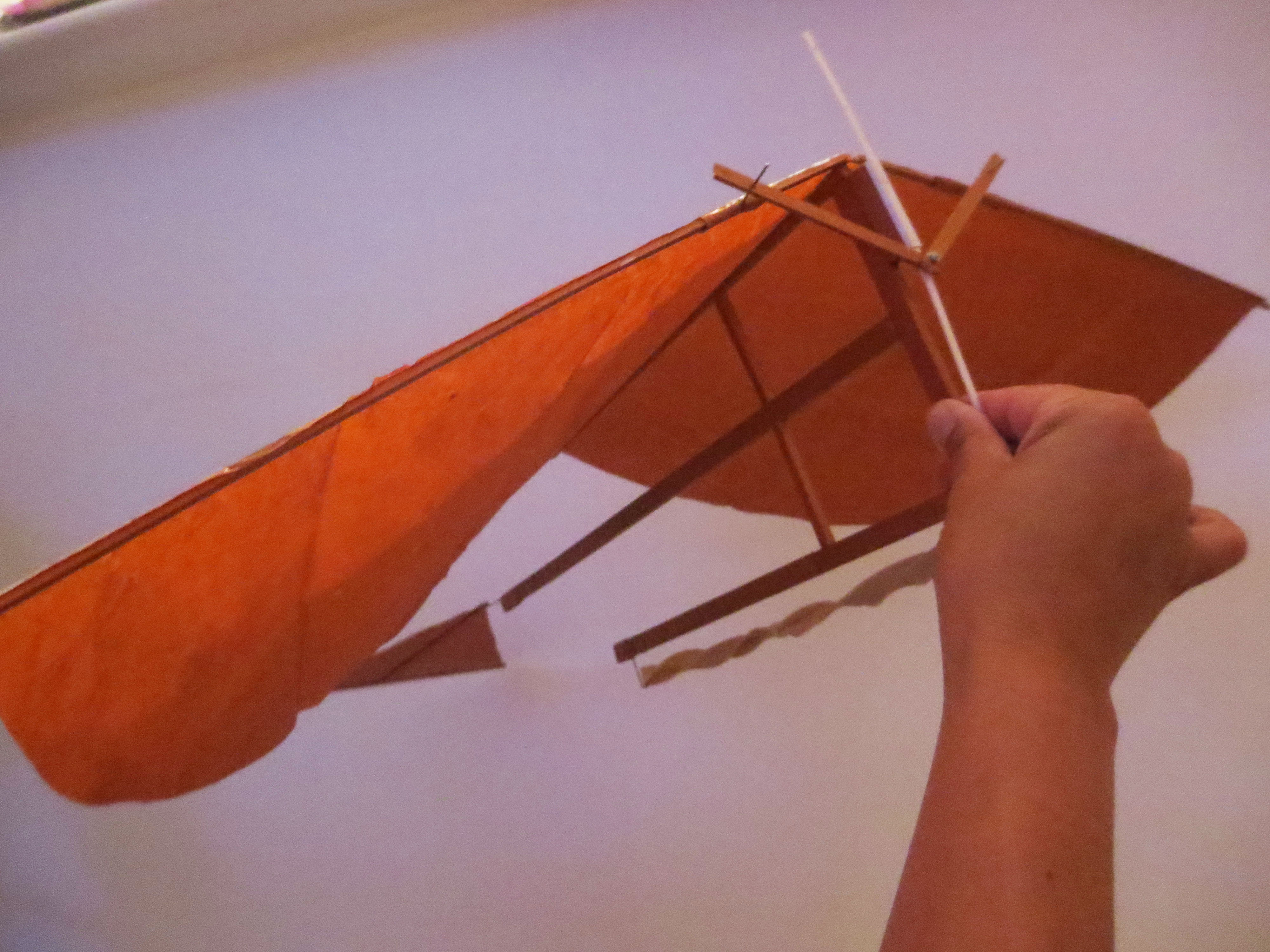 Picture of Rubber Band Ornithopter Airplane