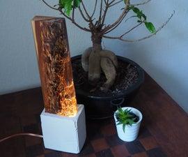 Glowing Bedside Lamp