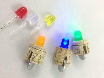 LED Cork Light