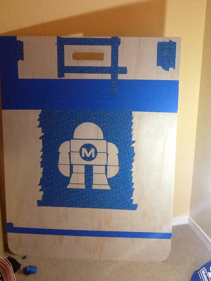 Picture of Stenciling and Painting.