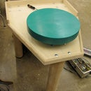 Pt. 1 How to build a potters wheel with a treadmill motor!