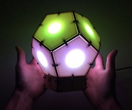 Bucky Touch: Light-up Dodecahedron Instrument