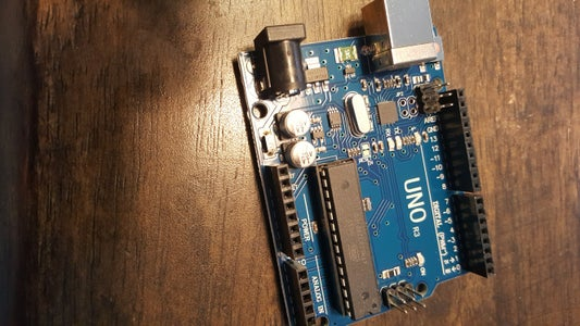 Connections on the Arduino and Relay