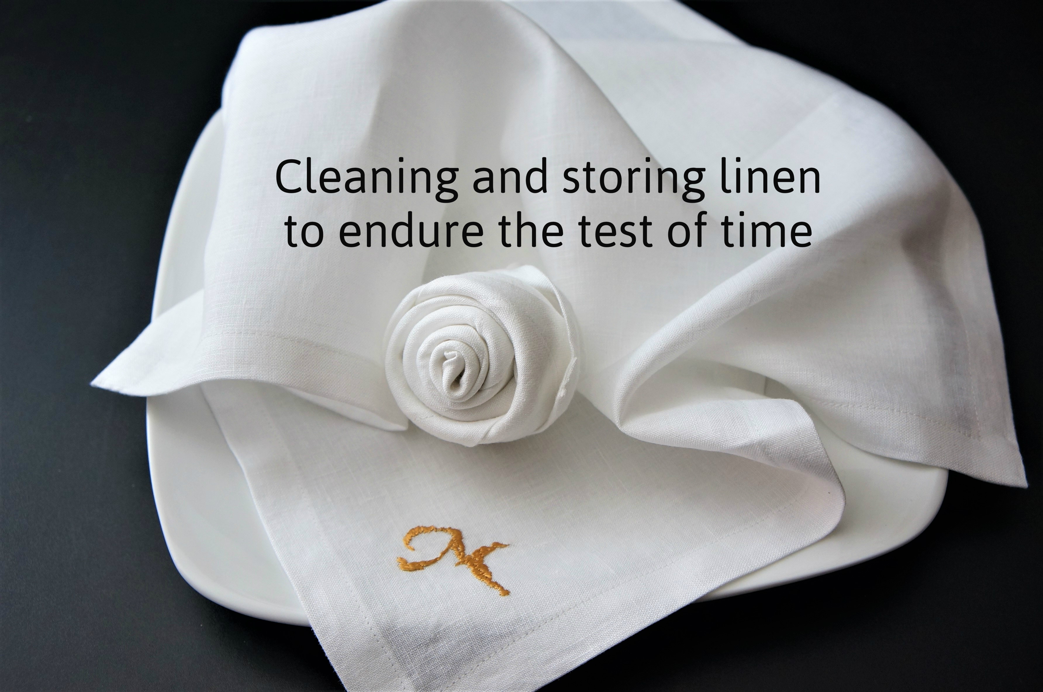 Picture of How to Care for Linen
