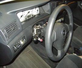 Toyota Corolla 2007 Dash Removal Instrument Panel Radio Console Snake