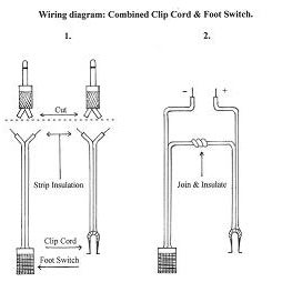 Foot Switch Wiring Diagram