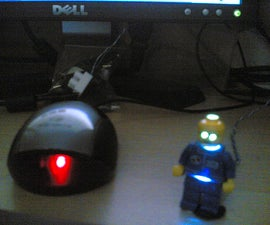 USB Powered Glowing LEGO Man