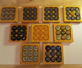 Bottle Cap Drink Coaster