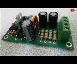 How to Build an Adjustable Switching Power Supply Using LM2576 [Buck Converter, CC-CV]