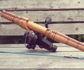 Custom Wooden Composite Fishing Rod Handle