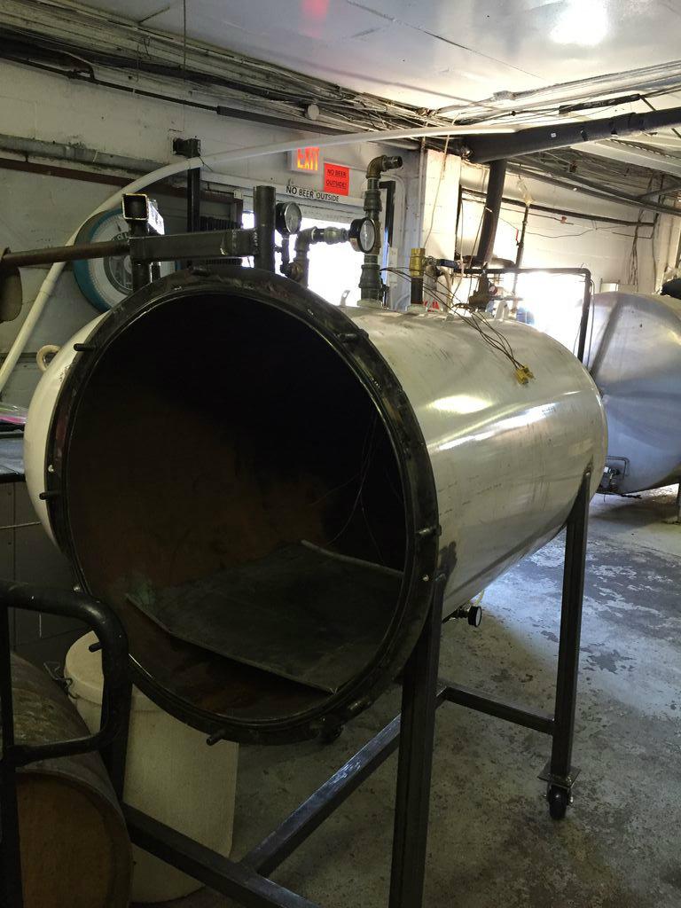 Picture of 1000 Litre (250 Gallon) Autoclave