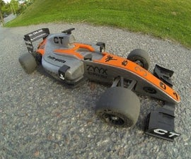 3D Printed 1:10 OpenRC Formula 1 Car