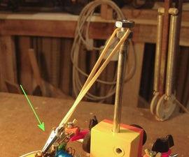 Trick for desoldering through hole components (adaptation)