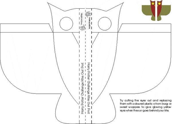 Harry Potter Challenge: Owl Post Kite