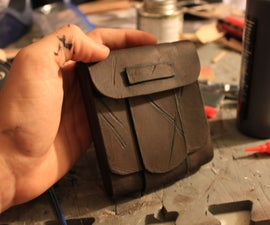 Leather Pouch Tutorial & Intro to Basic Leather Working