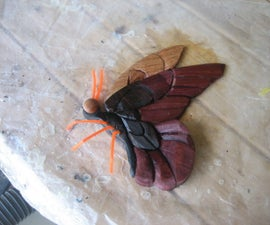 THE INTARSIA BUTTERFLY
