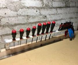 Expandable PVC Tool Holder