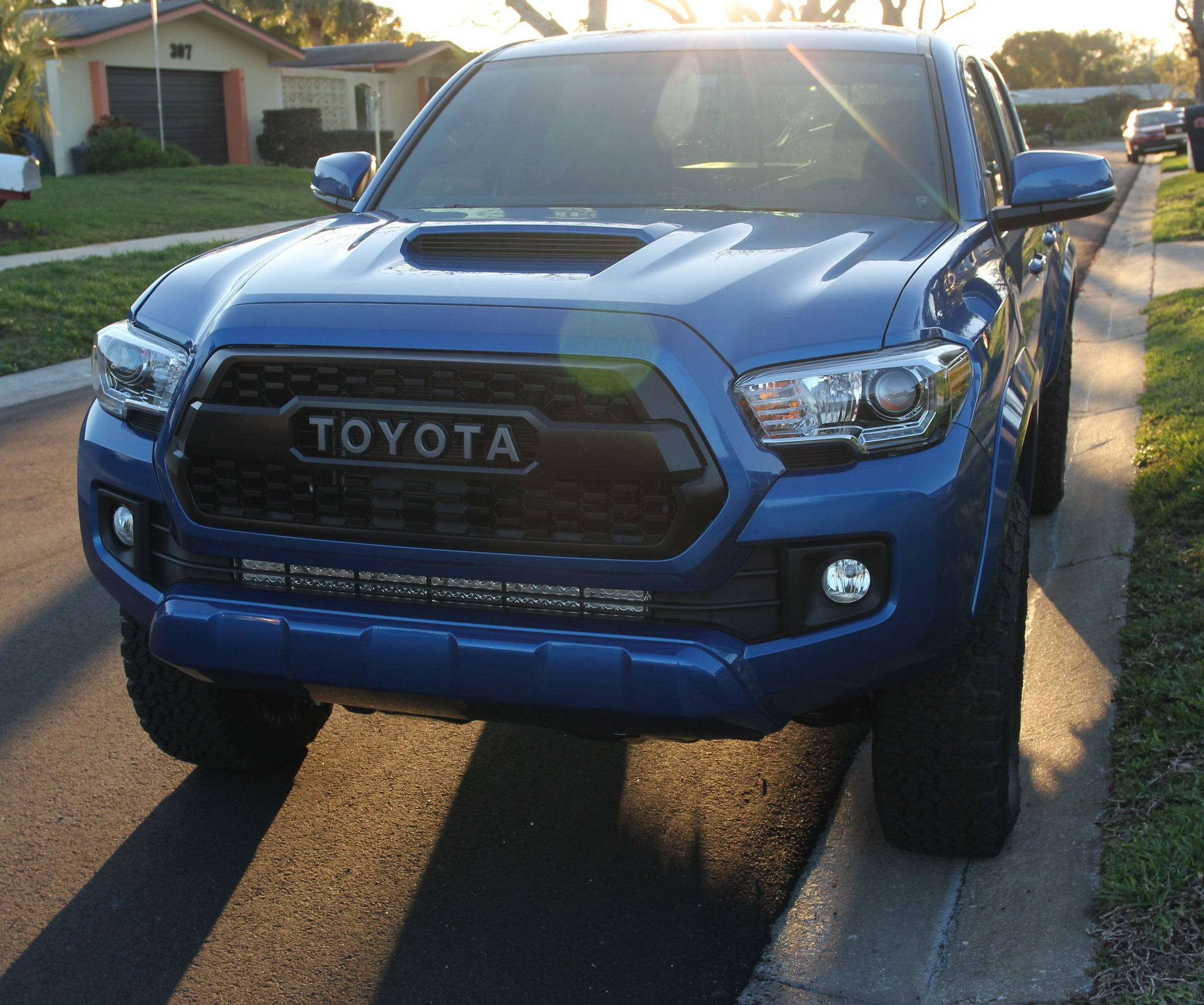 Install Double Row Led Light Bar On 2016 Up Toyota Tacoma 6 Steps Wiring Harness