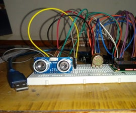 Ultrasonic Range Finder Using Arduino