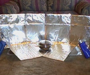Simplest Solar Cooker Ever! (cardboard and Foil Oven) Cheapest/easiest How to DIY