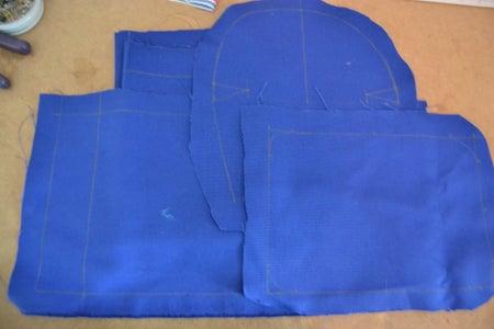 Prepare and Cut the Fabrics & the Strap