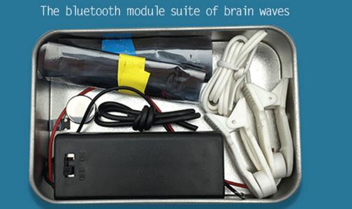 Brainwave Computer Interface Prototype TGAM Starter Kit Soldering & Testing