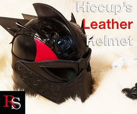 Hiccup's Leather Helmet From How to Train Your Dragon: the Hidden World