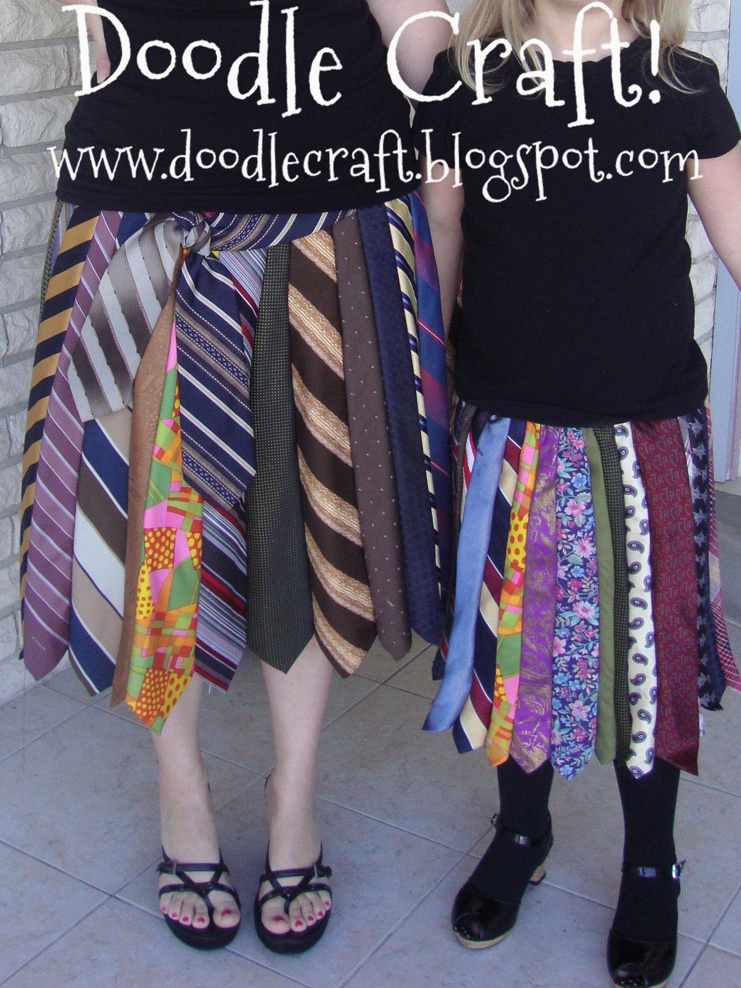 Picture of Upcycled Tie Skirt!