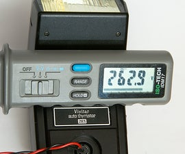Taming the high trigger voltage of the Vivitar 283