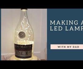 LED Bottle Lamp