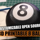 Magic 8 Ball, Open Source, Customizable, Fun and Easy to Build