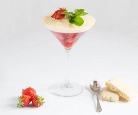 How to Make a Strawberry Sabayon