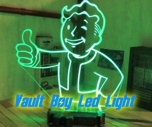 Fallout Vault Boy Led Light