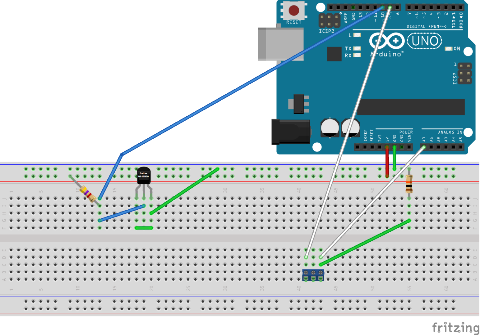 Instructions Arduino Gprs Iot Weather Station Ds18b20 Wiring The Is Easy To Set Up But Counter Intuitive And There Are Two Different Ways Wire It Which Can Create More Confusion