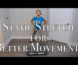 5 Static Stretch Exercises for Better Movement