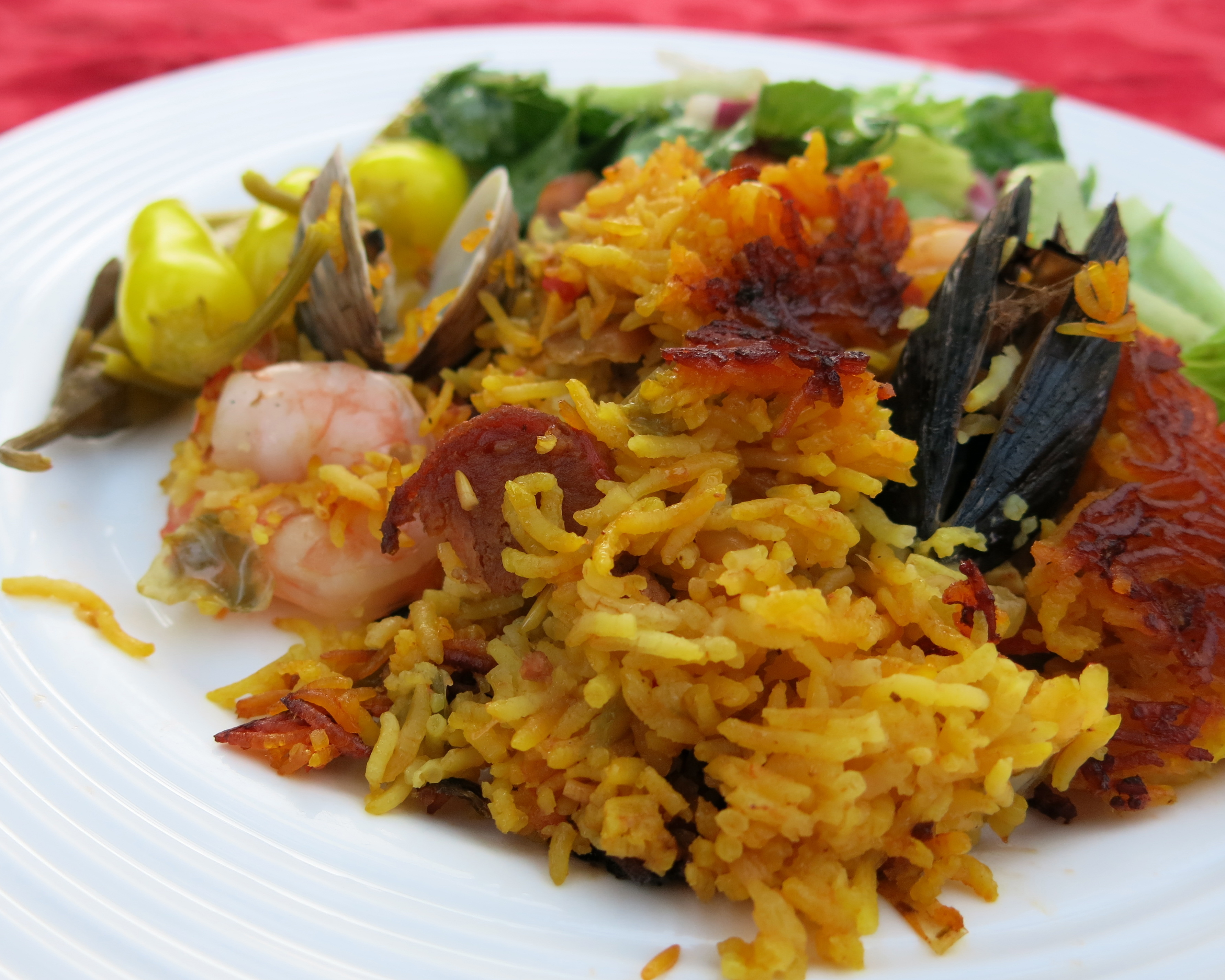 Picture of Grilled Paella
