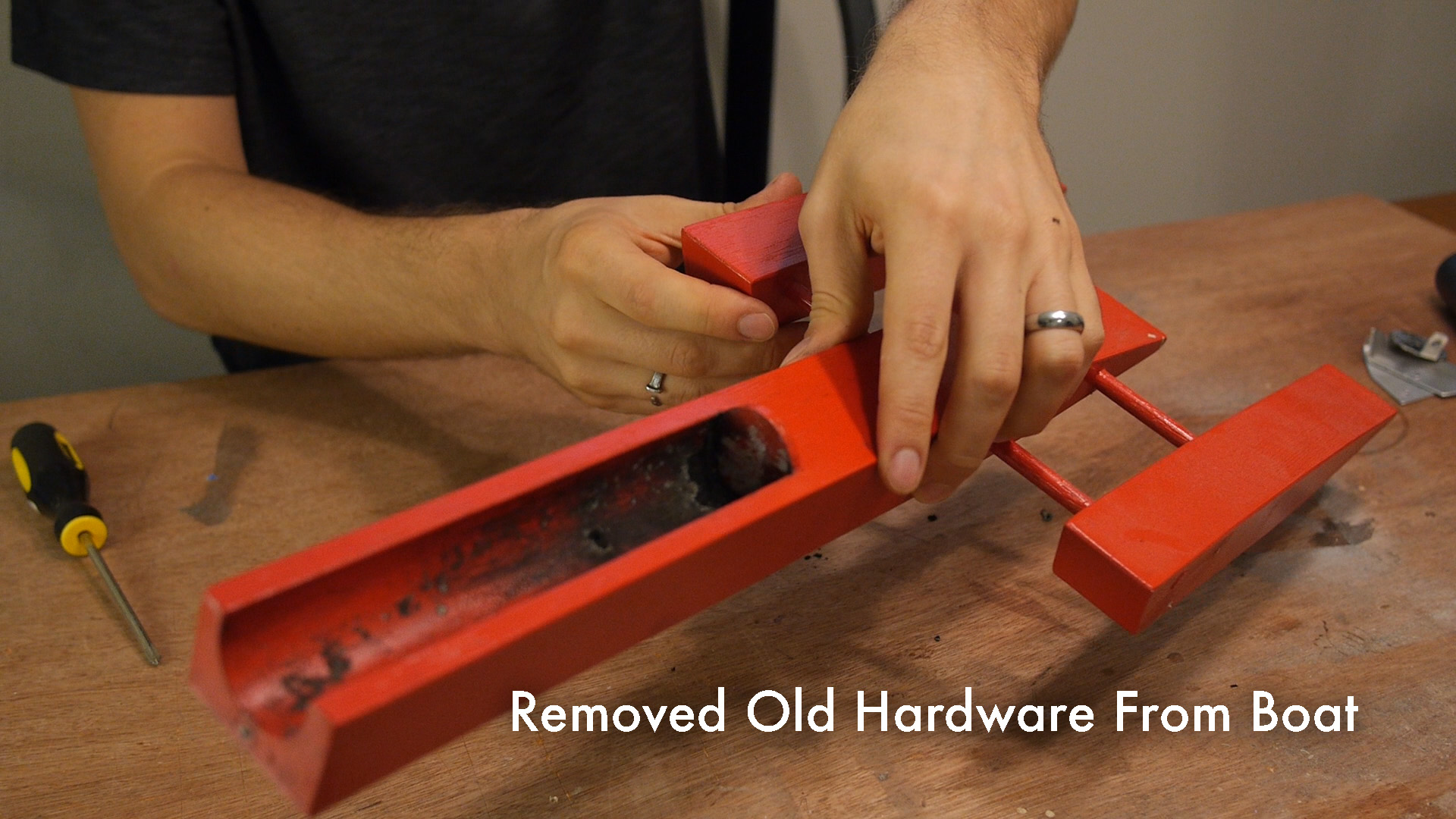 Picture of Removing the Old Hardware