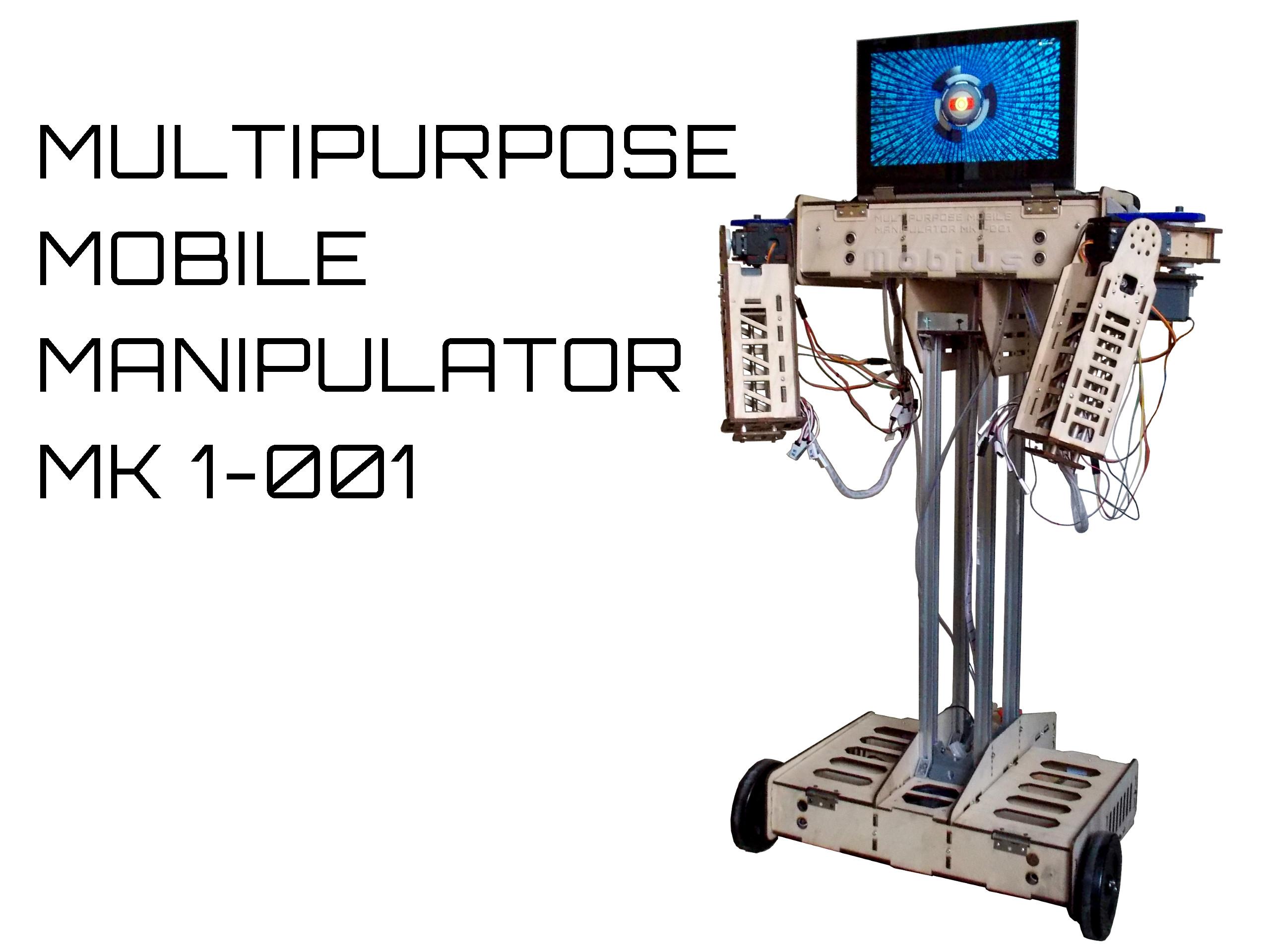 Picture of Multipurpose Mobile Manipulator Mk 1
