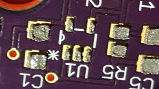 Laser Cut Solder Stencil