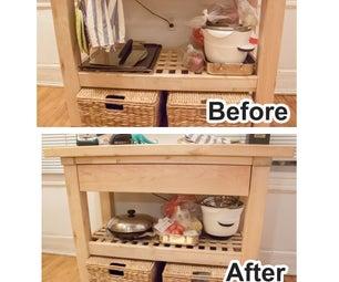 Adding a Drawer to an IKEA Kitchen Island