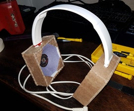Recycling Headphones With Cardboard