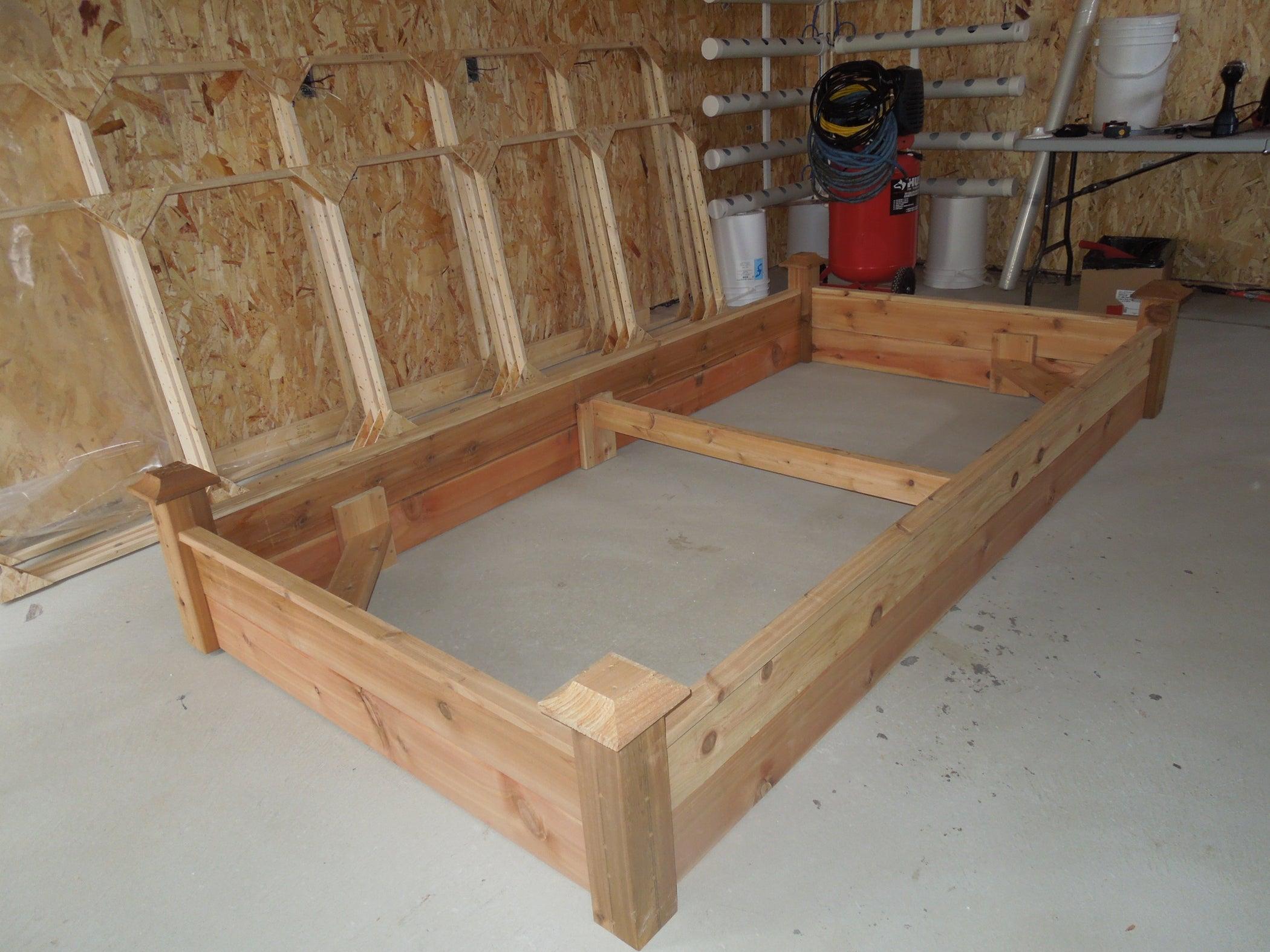 Cedar Raised Planter Beds Built for \