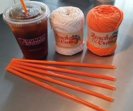 How to Make a Coffee Straw Micro Loom