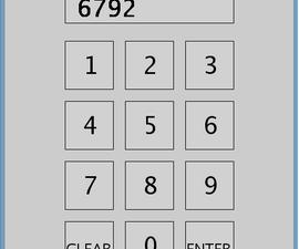 Simple Arduino Virtual Keypad