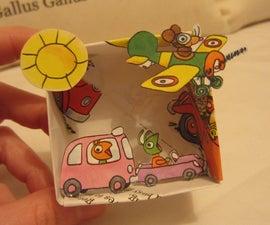 Make a Paper Diorama