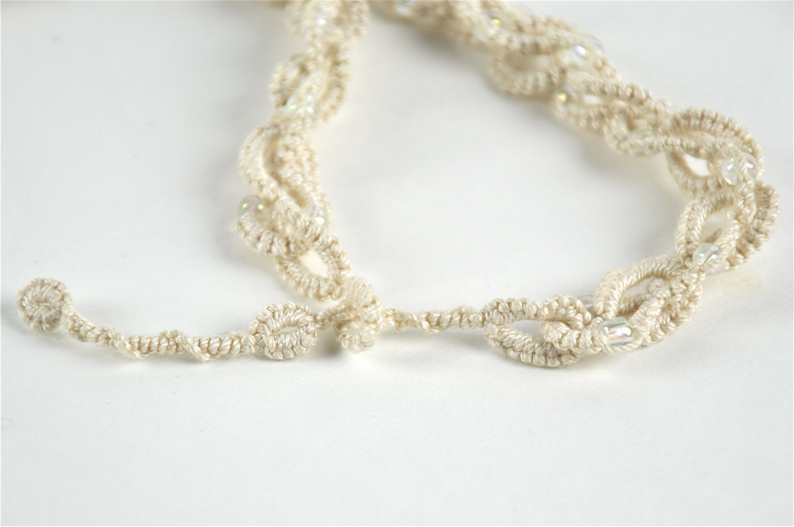 Picture of Tatted Chain Necklace