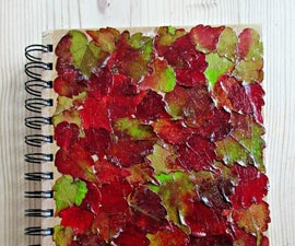 How to Decoupage With Fall Leaves