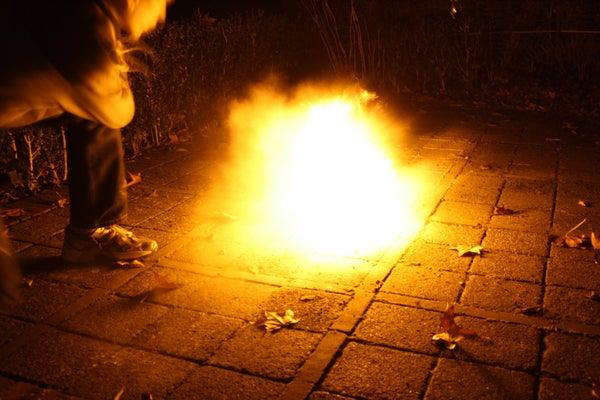Fire With Flour!
