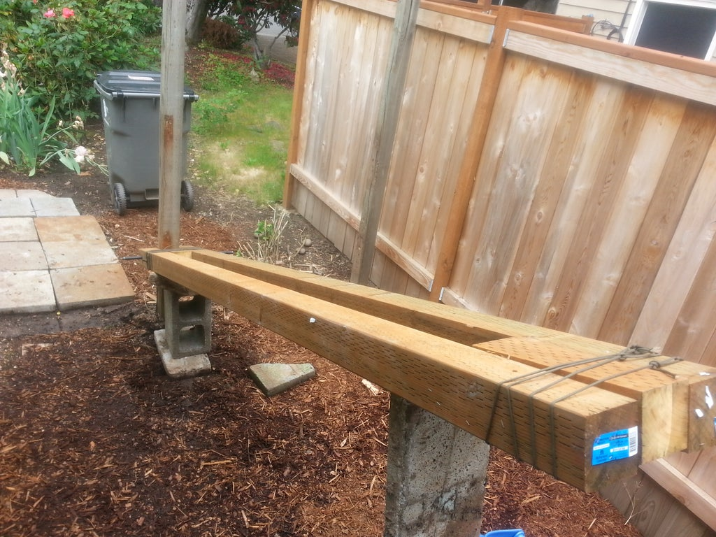 Pull Wooden Fence Posts Set In Concrete With No Digging 7 Steps