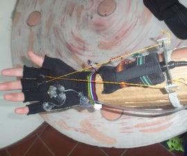 Pyro glove/ wrist mounted flamethrower